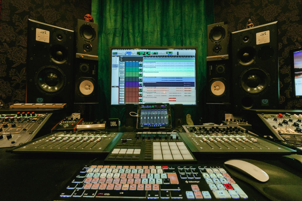 Bloom Recording Studios | Purple Studio